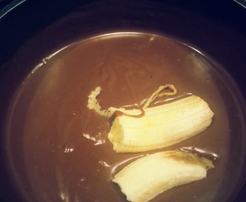 Budyń bananowo-czekoladowy